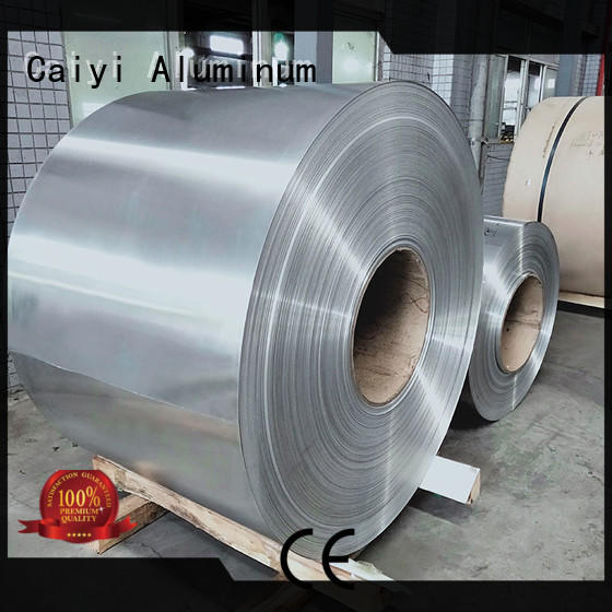 Caiyi aluminum 1050 aluminum sheet manufacturer for reflectors