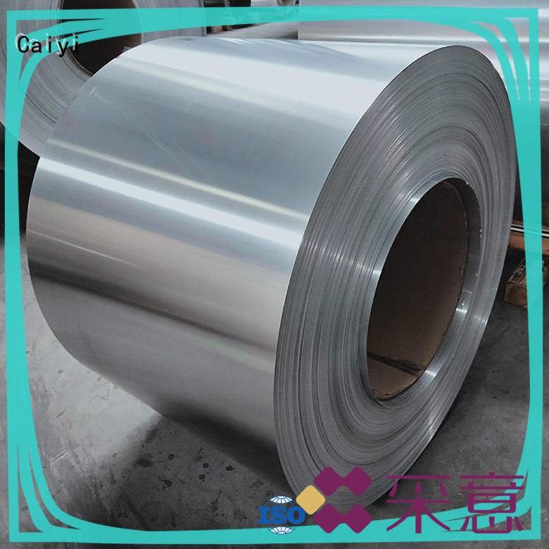 Caiyi top 6061t6 aluminum customization for industry