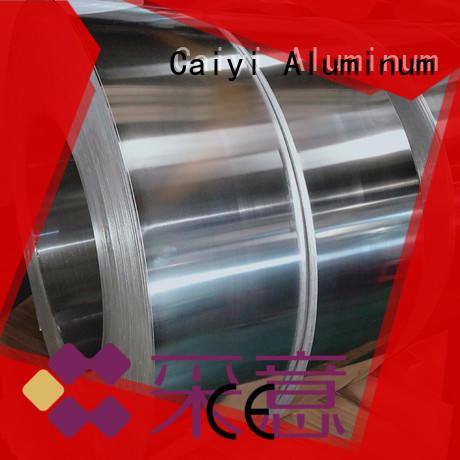Caiyi embossedo aluminium coil supplier for hardware