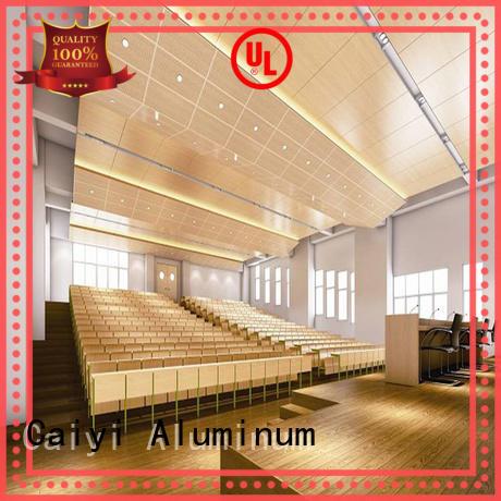 Caiyi aluminum composite panel manufacturer for cladding