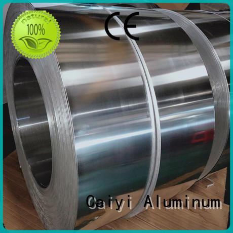 Caiyi Brand channel thin 1050 aluminum coil stripaluminum supplier