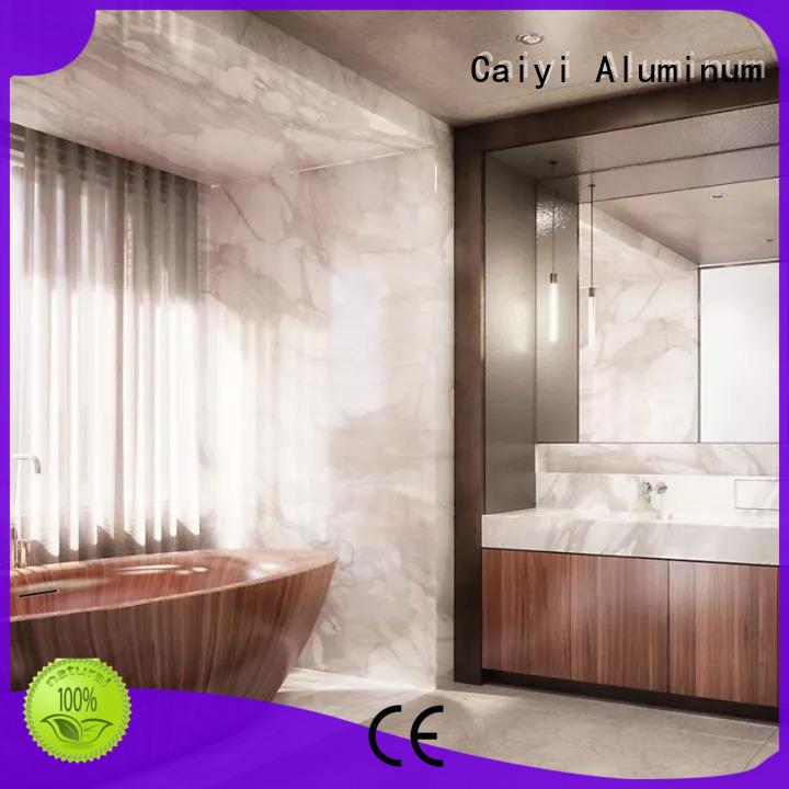 composite aluminum composite panel design coated hardware Caiyi
