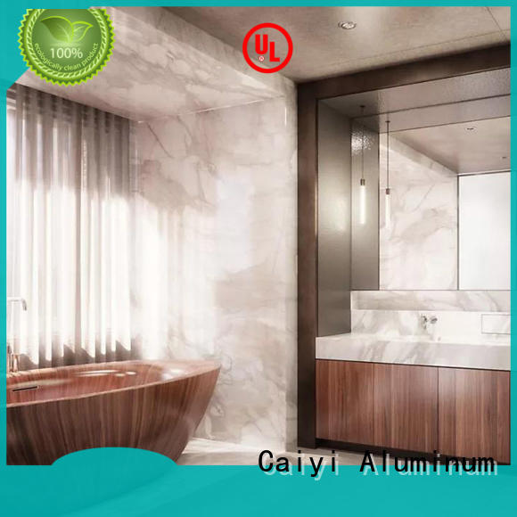 Caiyi aluminum composite panel price for cladding