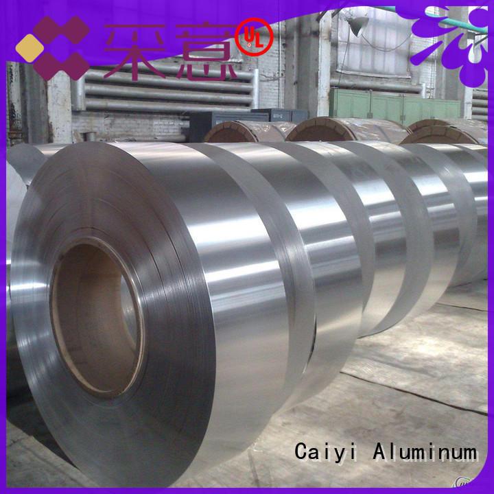 Caiyi waterproof 1050 aluminum sheet wholesale for keys