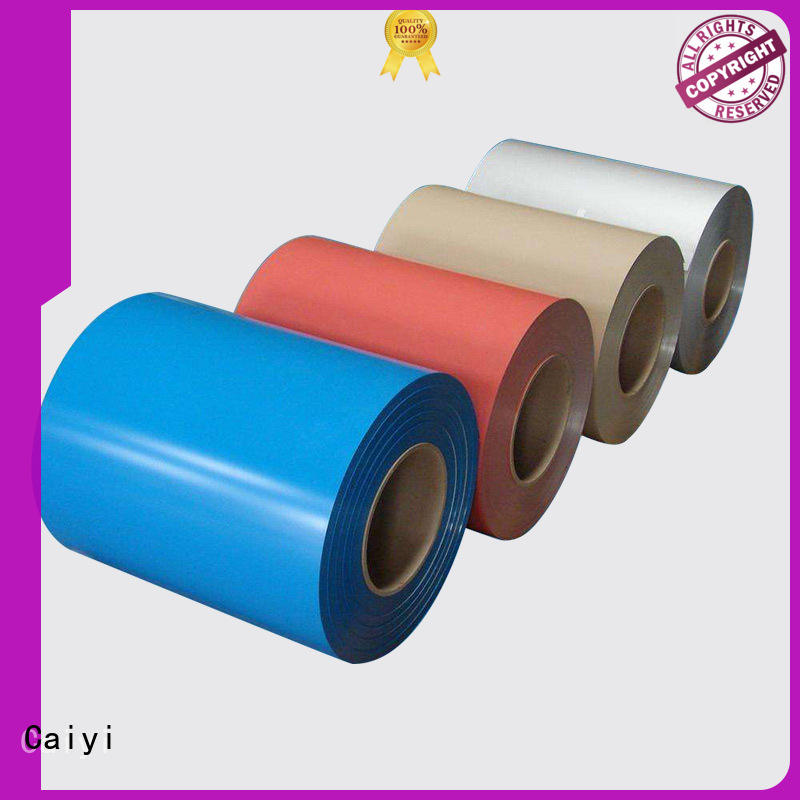 Caiyi roll 1100 aluminum sheet supplier for reflectors