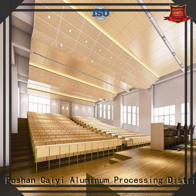 Caiyi coated aluminum composite material customization for hardware