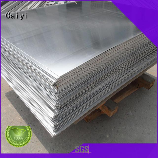 Caiyi fireproof 5052 h32 aluminum sheet wholesale for metal parts