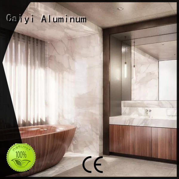 Caiyi aluminum composite sheet trade partners for cladding