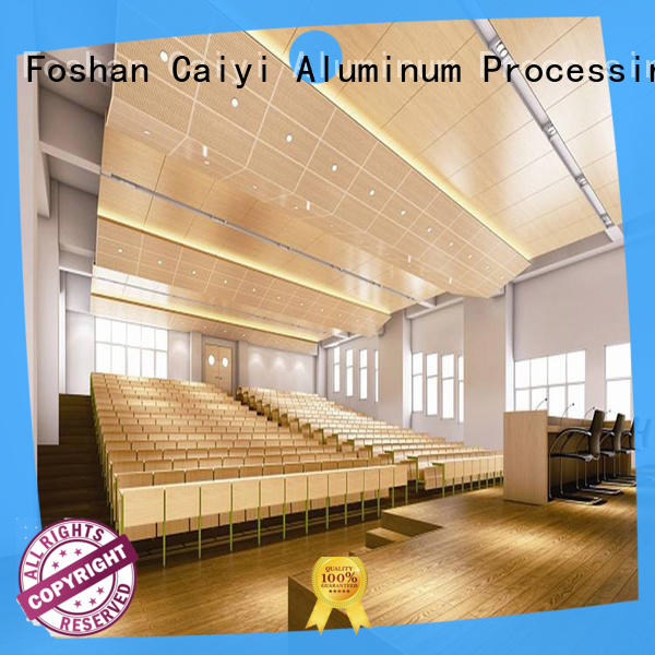 Caiyi gold aluminum composite panel details supplier for industry