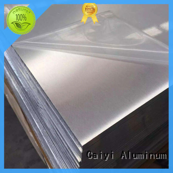Caiyi plate 6061t6 aluminum customization for factory