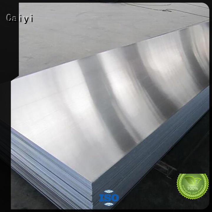 Caiyi low home depot aluminum customization for factory