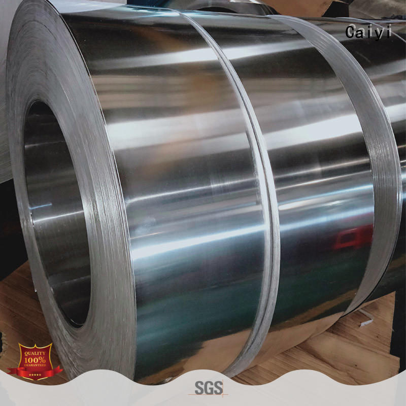 Caiyi high quality aluminum sheet roll brand for reflectors