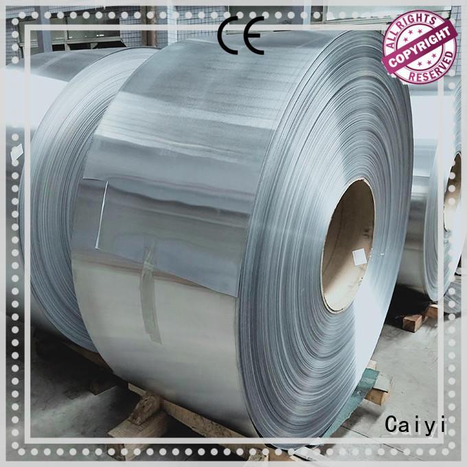 Hot channel stainless steel sheet metal stripaluminum series Caiyi Brand