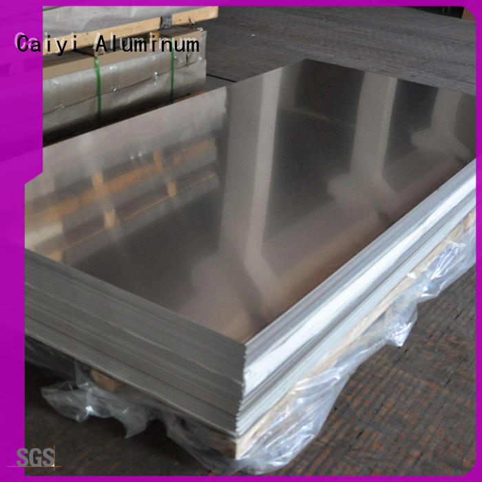 Caiyi cutting aluminum sheet wholesale for industry