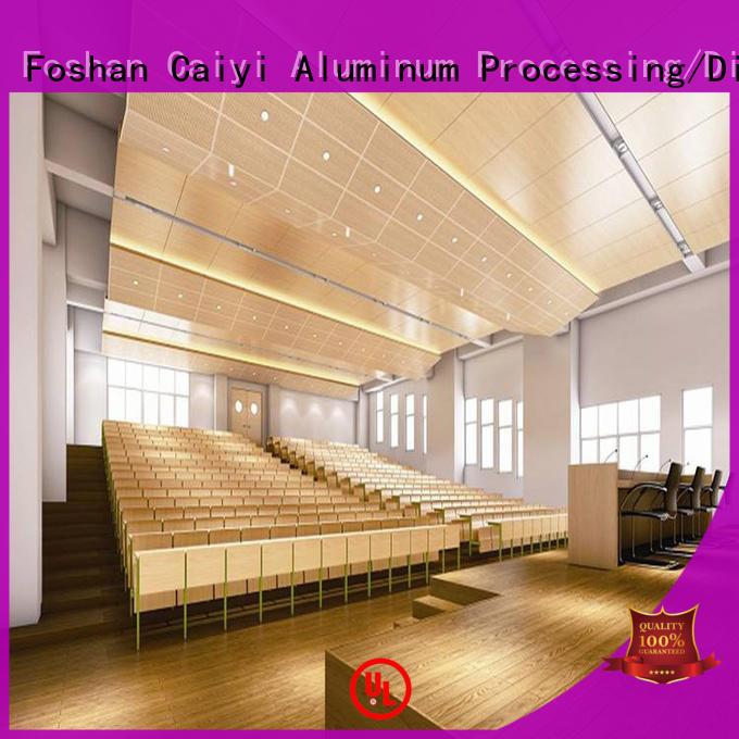 Caiyi composite aluminum composite panel details customization for factory
