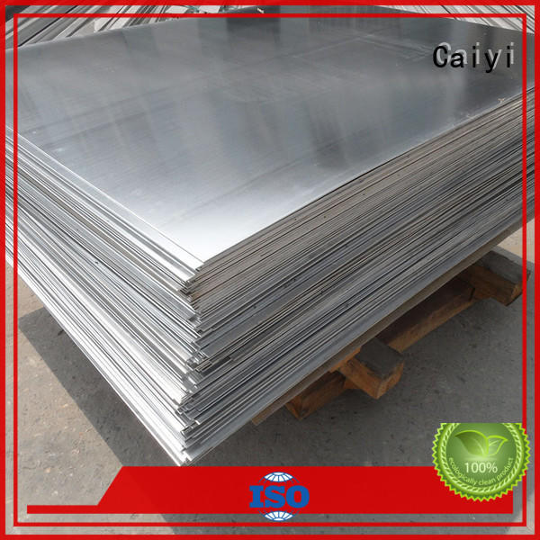 Caiyi Brand sheet tank sale 5052 aluminum sheet manufacture