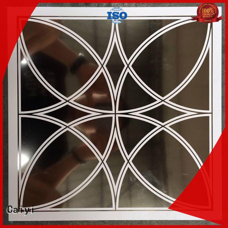 aluminum composite panel price outdoor hardware Caiyi