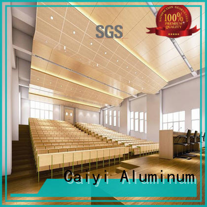 coated 3mm aluminum composite panel stone industry Caiyi