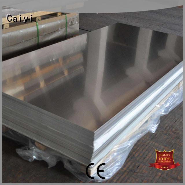 Caiyi tread buy aluminium sheet customization for hardware