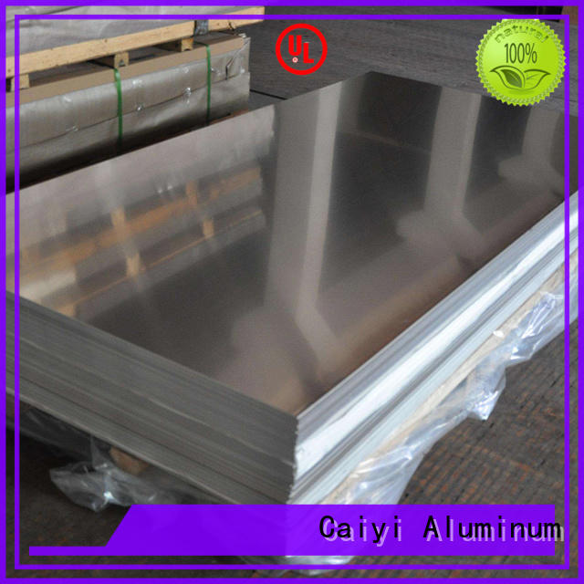 Caiyi custom cutting aluminum sheet brand for radiators