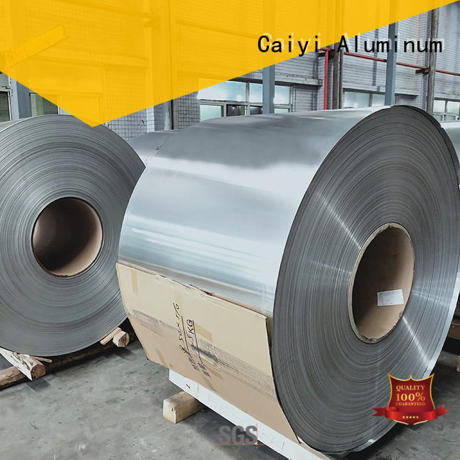 Caiyi manufacture 3003 aluminum plate wholesale for factory