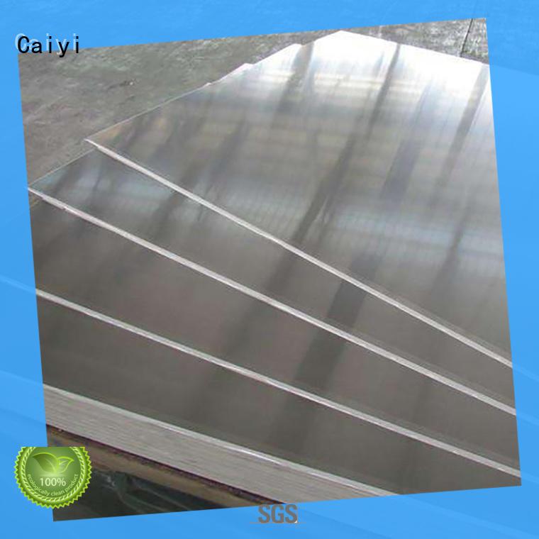 Caiyi coated aluminum foil sheets wholesale for reflectors