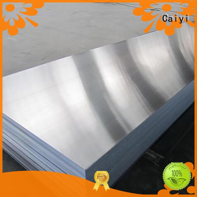 Caiyi low 1050 aluminum sheet customization for radiators