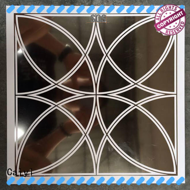Caiyi best aluminum composite panel price manufacturer for building