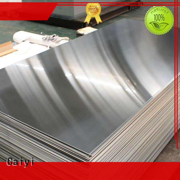 Caiyi stainless steel sheets for sale customization for hardware
