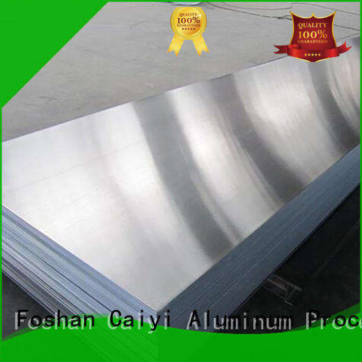 Caiyi fireproof cutting aluminum sheet brand for nameplates