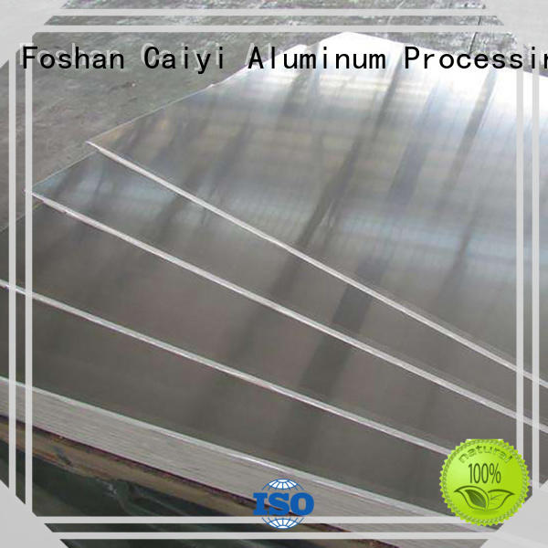 Caiyi high quality 1050 aluminum sheet brand for keys