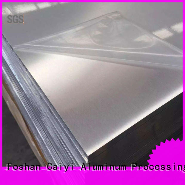 Caiyi 6061 aluminum plate one-stop services for mold
