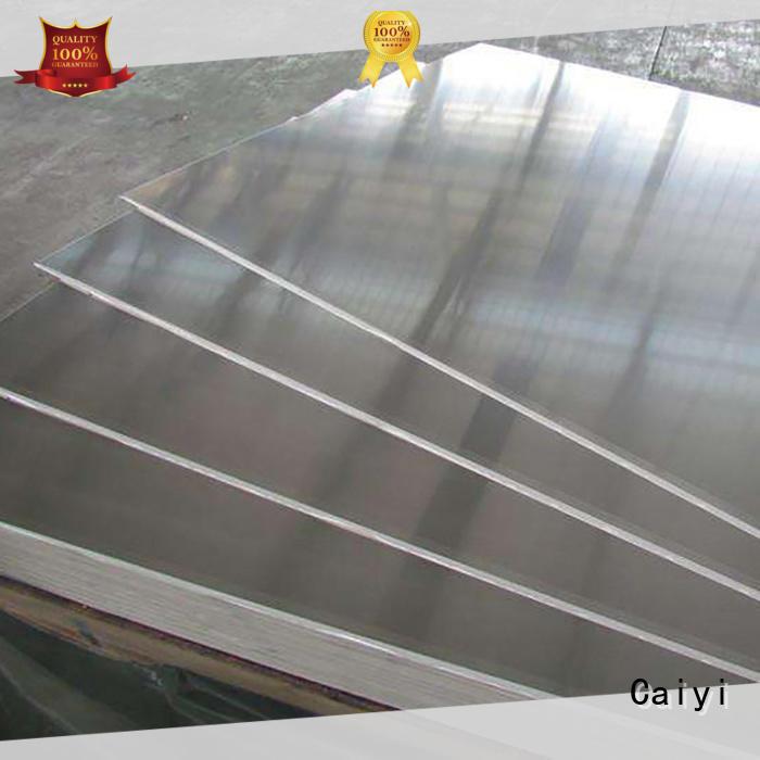 Caiyi embossed 1100 aluminum sheet supplier for keys