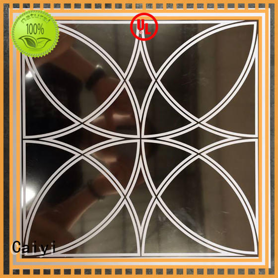 Caiyi high quality aluminum composite panel from China for cladding