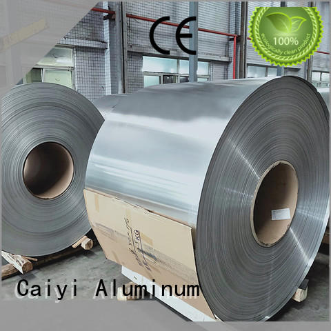 Caiyi 3003 aluminum plate export worldwide for bottle caps