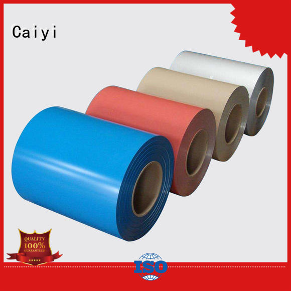 Caiyi Brand five sale price 1050 aluminum coil spinning