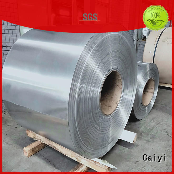 Caiyi 1100 aluminum plate from China for hardware