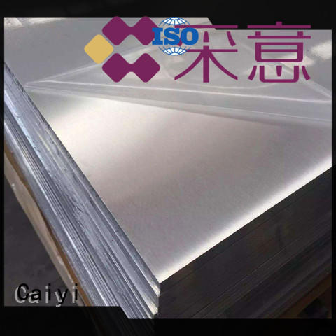 Caiyi new 6061 aluminum one-stop services for mold