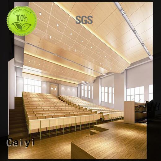 Caiyi aluminum composite sheet supplier for ceiling
