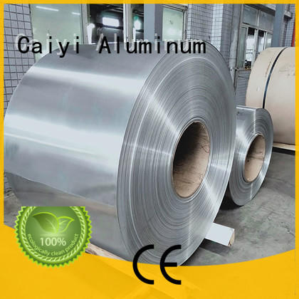 Caiyi low aluminum foil sheets supplier for keys