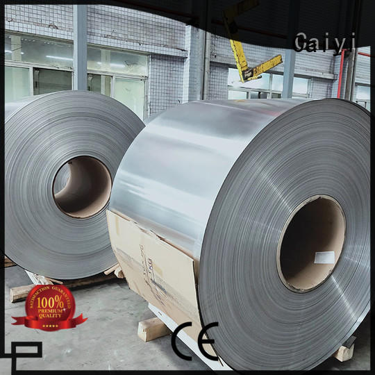 Caiyi aluminum foil sheets brand for reflectors