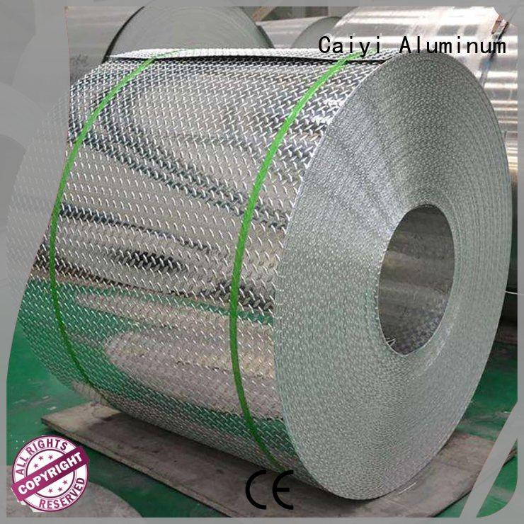 sheet embossed popular Caiyi Brand 3003 aluminum sheet supplier