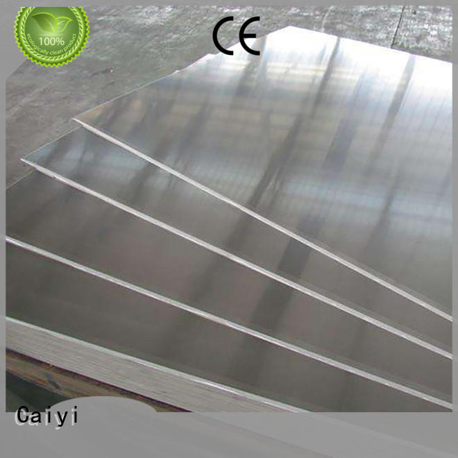 Caiyi embossed 1100 aluminum plate series for factory