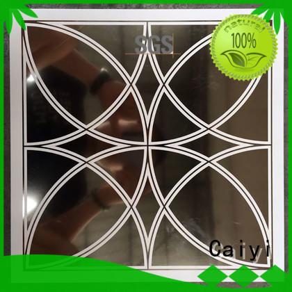 Caiyi Brand coated pepvdf wall aluminum composite panel