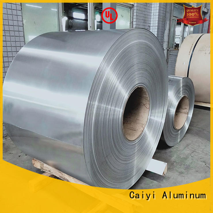 Caiyi thin stainless steel sheet metal pepvdf for reflectors