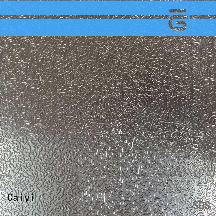 Caiyi stainless steel sheet metal wholesale for factory