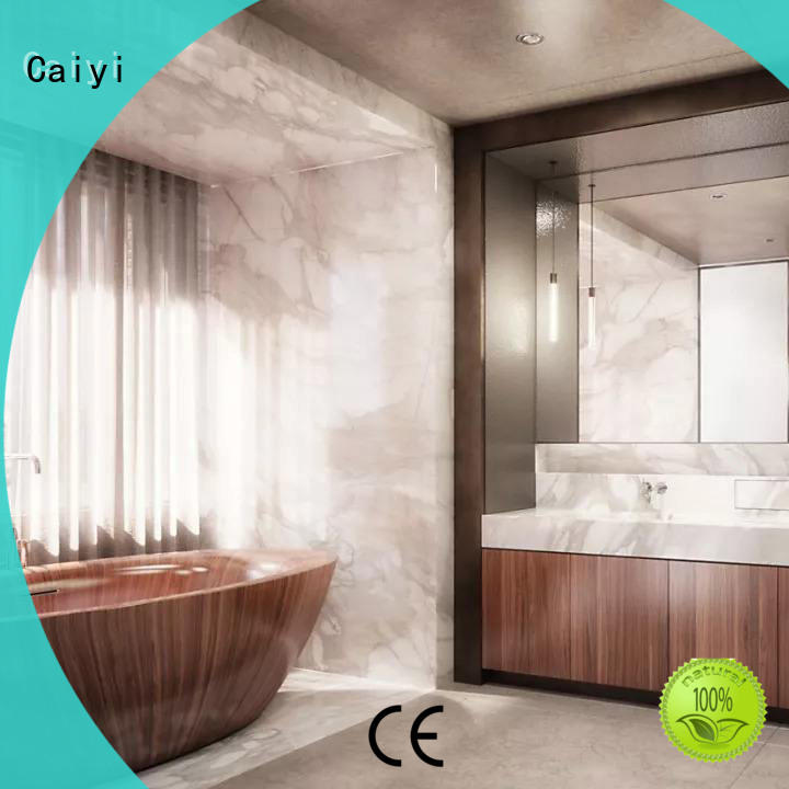 Caiyi effect aluminum composite material supplier for hardware