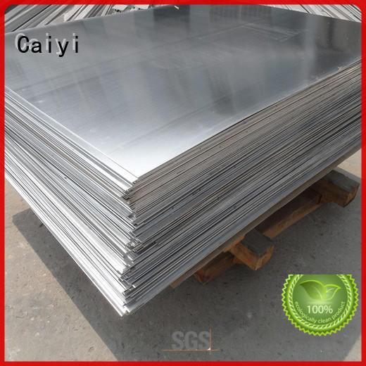 assurance 5083 aluminum sheet production factory Caiyi
