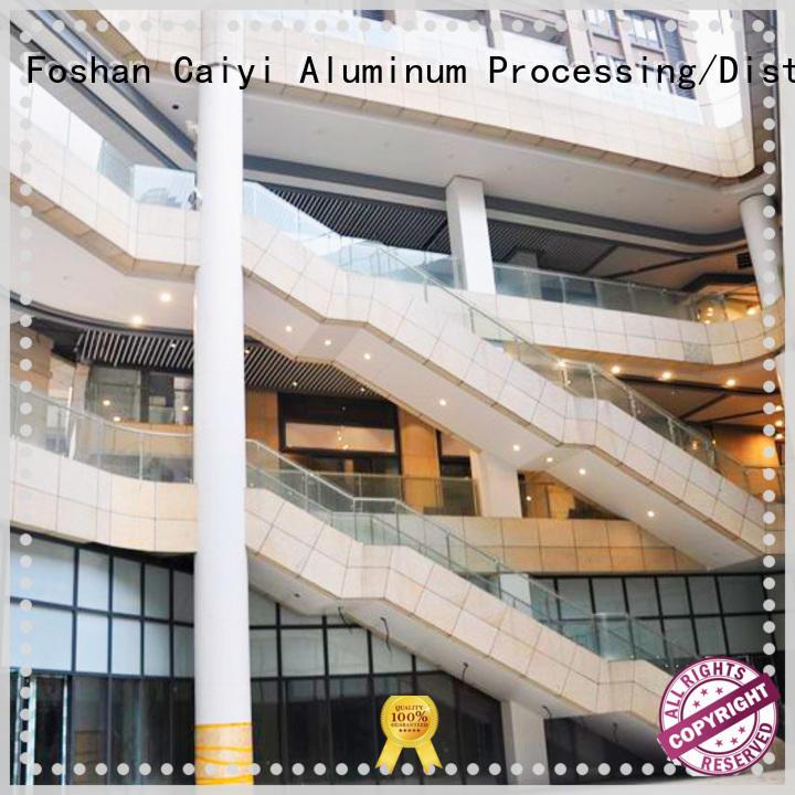 Caiyi aluminum composite panel for cladding