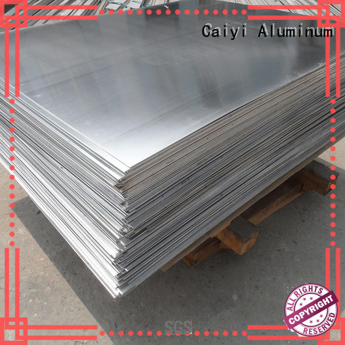 Caiyi quality aluminum plate for sale customization for hardware